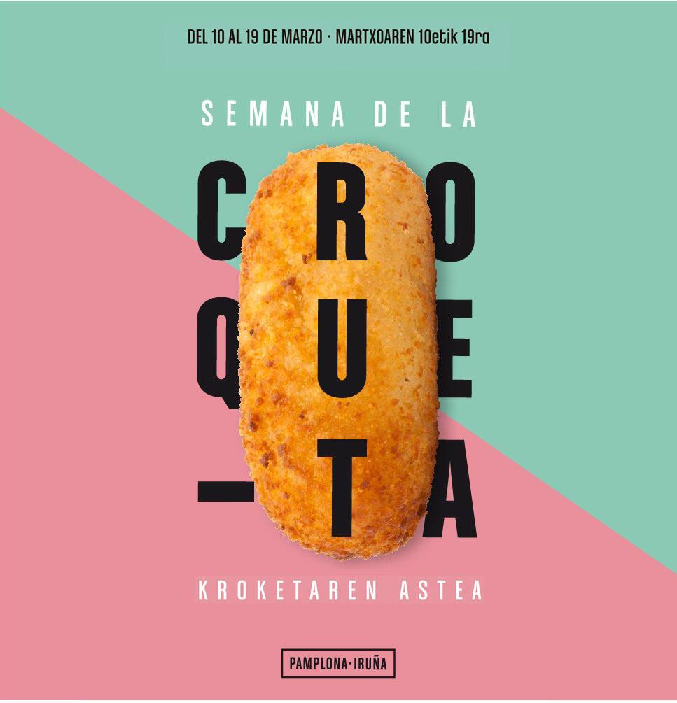 Semana de la Croqueta y el Frito en Pamplona 2017