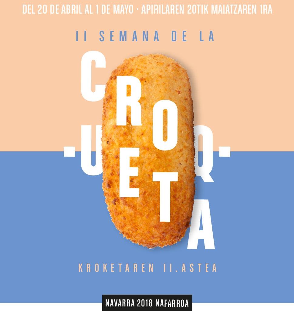 Semana de la Croqueta de Navarra 2018