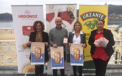 Presentación de la I Semana de la Croqueta de Gipuzkoa